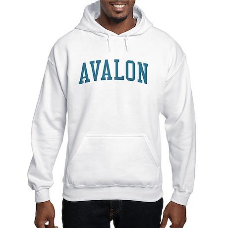 Avalon New Jersey NJ Blue Hooded Sweatshirt