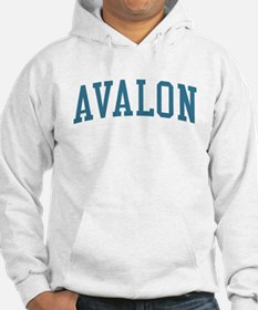 Avalon New Jersey NJ Blue Hoodie