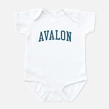 Avalon New Jersey NJ Blue Infant Bodysuit