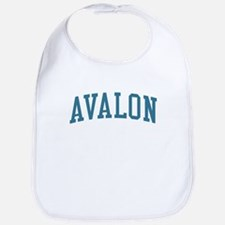Avalon New Jersey NJ Blue Bib