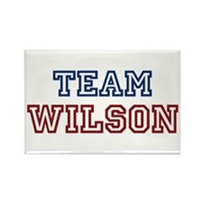 TEAM WILSON Rectangle Magnet