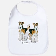 Fox Terrier Trouble! Bib