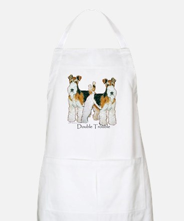 Fox Terrier Trouble! BBQ Apron