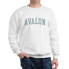 Avalon New Jersey NJ Green Sweater