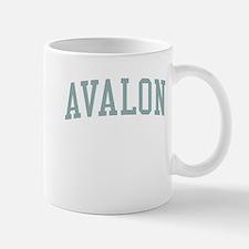 Avalon New Jersey NJ Green Mug