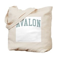 Avalon New Jersey NJ Green Tote Bag