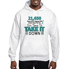 Take Down Ovarian Cancer 4 Hoodie