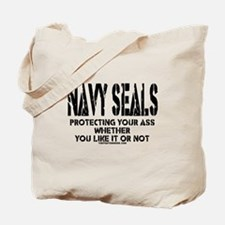 NAVY SEALs Protecting Your As Tote Bag