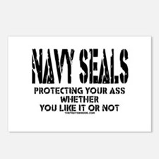 NAVY SEALs Protecting Your As Postcards (Package o