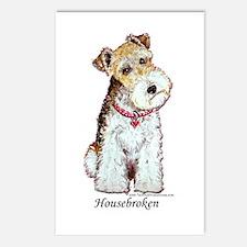 Fox Terrier Pup Postcards (Package of 8)