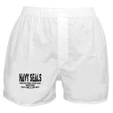 NAVY SEALs Protecting Your As Boxer Shorts