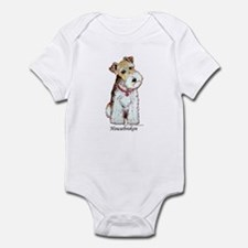 Fox Terrier Pup Infant Creeper