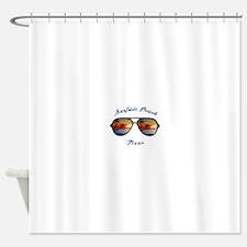 Texas - Surfside Beach Shower Curtain