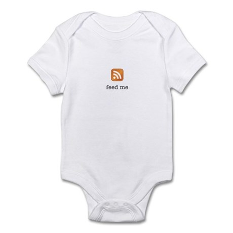 RSS Feed Me Infant Bodysuit