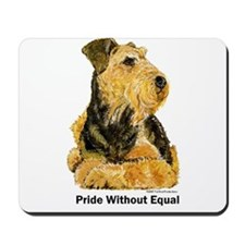 Welsh Terrier Leader of the Pack Mousepad