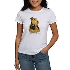 Welsh Terrier Leader of the Pack Tee