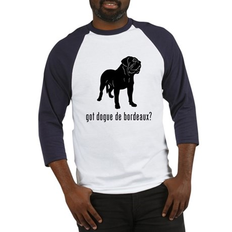 Dogue de Bordeaux Baseball Jersey