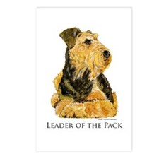 Welsh Terrier Leader of the Pack Postcards (Packag