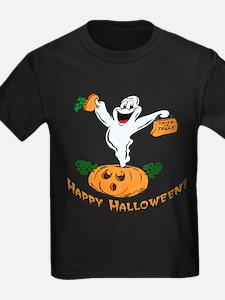 Happy Halloween Pumpkin Ghost T