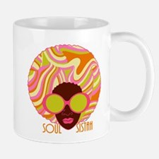 Soul Sistah Brown Mug