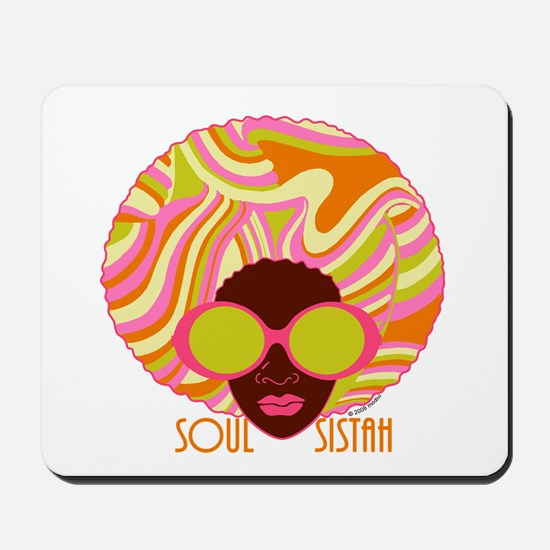 Soul Sistah Brown Mousepad
