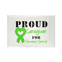 Caregiver Lymphoma Rectangle Magnet