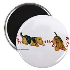 "Welsh Terriers play to Win! 2.25"" Magnet (100 pack"