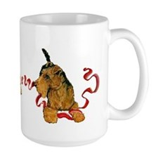 Welsh Terriers play to Win! Mug
