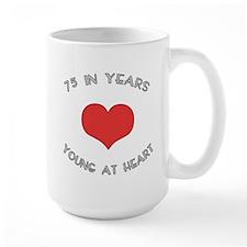 75 Young At Heart Birthday Mug