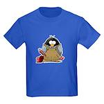 Plumber Penguin Kids Dark T-Shirt