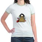Plumber Penguin Jr. Ringer T-Shirt