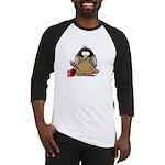 Plumber Penguin Baseball Jersey