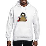 Plumber Penguin Hooded Sweatshirt