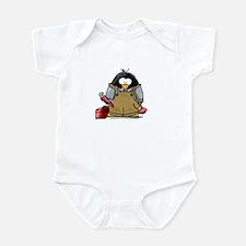 Plumber Penguin Infant Bodysuit