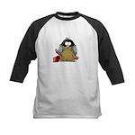 Plumber Penguin Kids Baseball Jersey