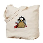 Plumber Penguin Tote Bag