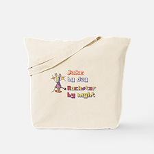 Jake - Rockstar by Night Tote Bag