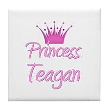 Princess Teagan Tile Coaster