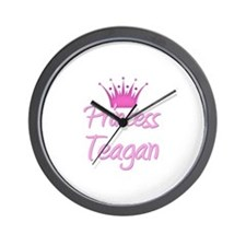 Princess Teagan Wall Clock