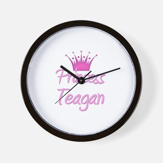 Princess Teagan Wall Clock