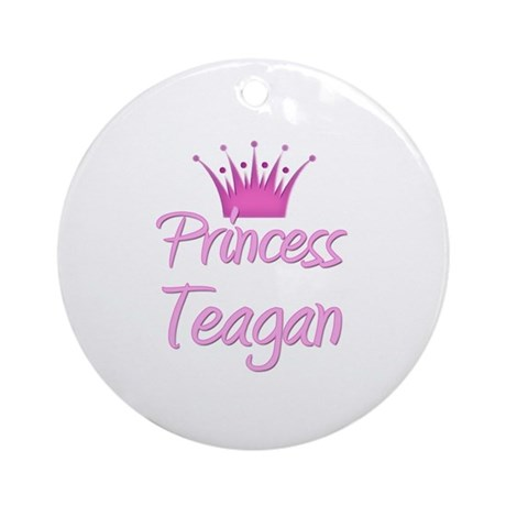 Princess Teagan Ornament (Round)
