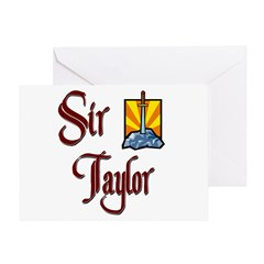 Sir Taylor Greeting Card