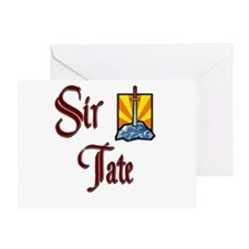 Sir Tate Greeting Card