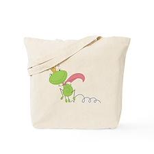 Frog Hop Tote Bag
