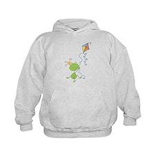 Frog Kite Flying Hoodie