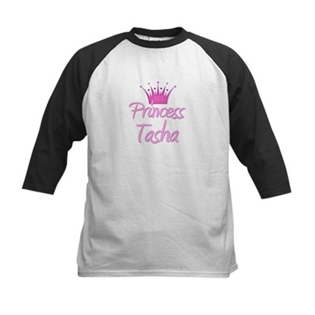 Princess Tasha Kids Baseball Jersey