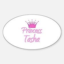 Princess Tasha Oval Decal