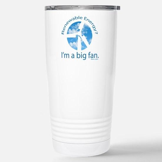 Big fan of renewable en Stainless Steel Travel Mug