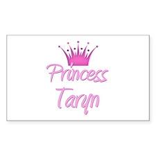 Princess Taryn Rectangle Decal
