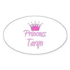Princess Taryn Oval Decal